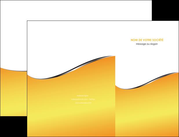 modele en ligne pochette a rabat jaune fond jaune colore MLGI58918