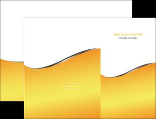 modele en ligne pochette a rabat jaune fond jaune colore MLIG58918