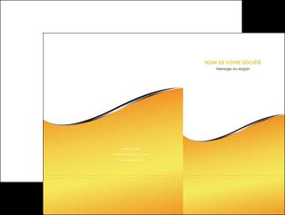 modele pochette a rabat jaune fond jaune colore MLGI58920
