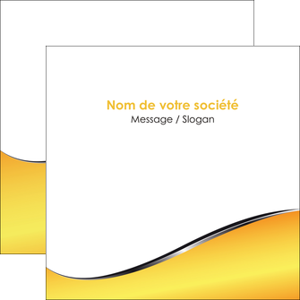 faire flyers jaune fond jaune colore MIF58938