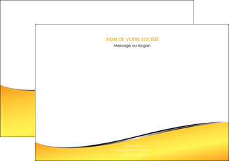 exemple flyers jaune fond jaune colore MLGI58940