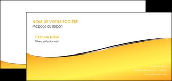 modele carte de correspondance jaune fond jaune colore MLGI58944