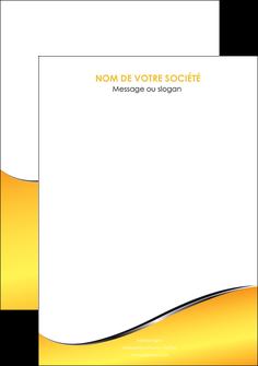 modele en ligne flyers jaune fond jaune colore MLGI58952