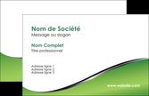 realiser carte de visite vert fond vert colore MLGI59240