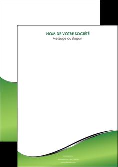 imprimerie affiche vert fond vert colore MIF59242