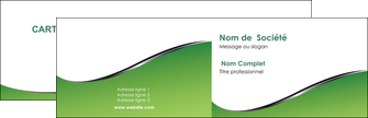 faire modele a imprimer carte de visite vert fond vert colore MIF59248