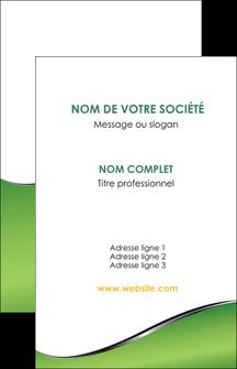 cree carte de visite vert fond vert colore MIF59250