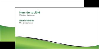 creation graphique en ligne enveloppe vert fond vert colore MIF59278