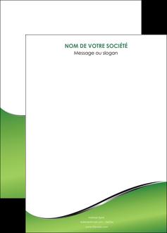 faire affiche vert fond vert colore MIF59284