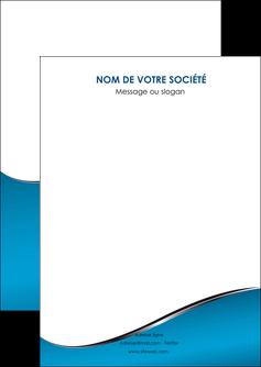 modele en ligne flyers bleu bleu pastel fond bleu MIF59356