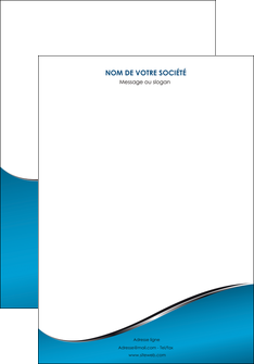 modele affiche bleu bleu pastel fond bleu MIF59358