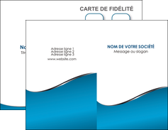 personnaliser maquette carte de visite bleu bleu pastel fond bleu MIF59362