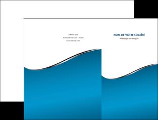 creer modele en ligne pochette a rabat bleu bleu pastel fond bleu MIF59366