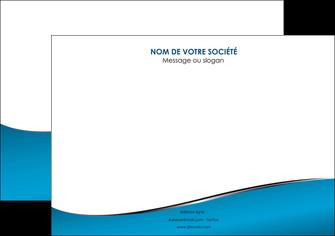 exemple affiche bleu bleu pastel fond bleu MIF59374