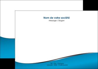 faire modele a imprimer flyers bleu bleu pastel fond bleu MIF59376