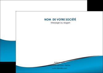 personnaliser maquette flyers bleu bleu pastel fond bleu MLGI59380