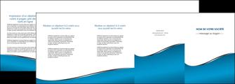 faire modele a imprimer depliant 4 volets  8 pages  bleu bleu pastel fond bleu MLIG59396