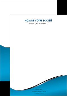 impression flyers bleu bleu pastel fond bleu MIF59398