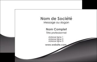 creation graphique en ligne carte de visite web design gris fond gris noir MLIG59404