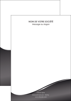 creer modele en ligne flyers web design gris fond gris noir MLGI59406