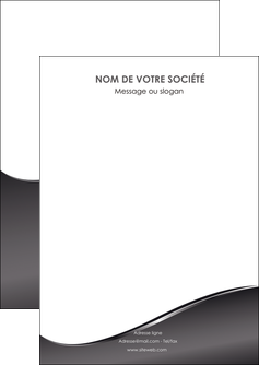 impression flyers web design gris fond gris noir MLIG59408