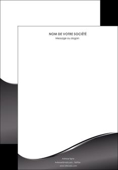 modele en ligne affiche web design gris fond gris noir MIF59410
