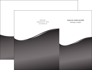 modele pochette a rabat web design gris fond gris noir MLGI59416
