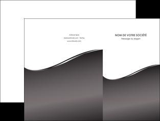 creation graphique en ligne pochette a rabat web design gris fond gris noir MLGI59418