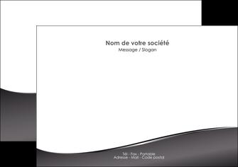personnaliser modele de flyers web design gris fond gris noir MLGI59428