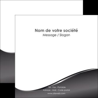 faire flyers web design gris fond gris noir MLIG59436