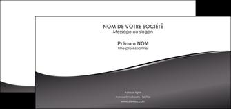 cree carte de correspondance web design gris fond gris noir MID59442