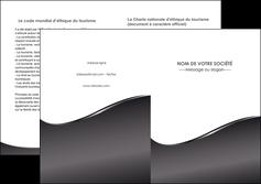 maquette en ligne a personnaliser depliant 2 volets  4 pages  web design gris fond gris noir MLGI59444