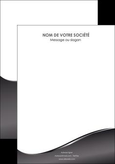 realiser flyers web design gris fond gris noir MIF59450
