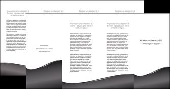 creation graphique en ligne depliant 4 volets  8 pages  web design gris fond gris noir MLGI59452