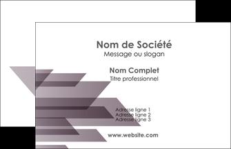 faire carte de visite web design gris fond gris simple MIF59456