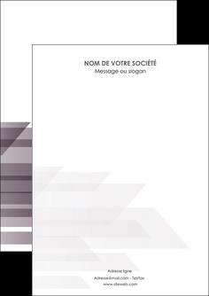 creation graphique en ligne flyers web design gris fond gris simple MIF59458