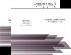 faire modele a imprimer carte de visite web design gris fond gris simple MIF59466