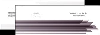 personnaliser modele de depliant 2 volets  4 pages  web design gris fond gris simple MIF59472