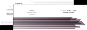 cree depliant 2 volets  4 pages  web design gris fond gris simple MIF59474