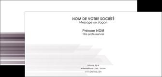 imprimerie carte de correspondance web design gris fond gris simple MIF59494