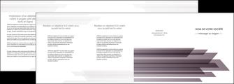 modele en ligne depliant 4 volets  8 pages  web design gris fond gris simple MIF59500