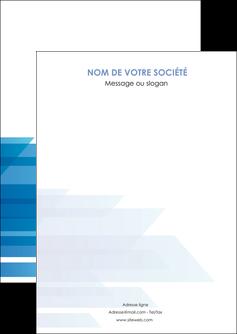 modele flyers bleu couleurs froides trait MLGI59582