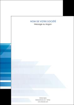 maquette en ligne a personnaliser affiche bleu couleurs froides trait MLIG59586