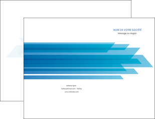 creer modele en ligne pochette a rabat bleu couleurs froides trait MLGI59590