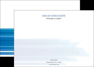 personnaliser maquette affiche bleu couleurs froides trait MLGI59598