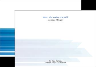 exemple flyers bleu couleurs froides trait MLGI59602