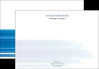 personnaliser modele de flyers bleu couleurs froides trait MLIG59612