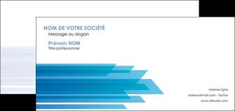 imprimerie carte de correspondance bleu couleurs froides trait MLIG59616