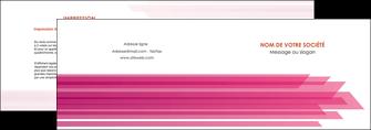 personnaliser modele de depliant 2 volets  4 pages  rose fond rose trait MLGI59656