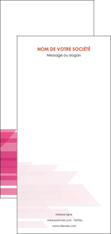 imprimerie flyers rose fond rose trait MLGI59690